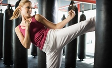 10 or 20 Cardio-Kickboxing, Zumba, and Muay Thai Classes at Champions Kickboxing (Up to 77% Off)