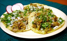Mexican Cuisine for Two or Four at Los Taquitos de Puebla Restaurant (Up to 56% Off) 