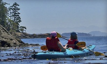 Two- or Four-Hour Guided Kayak Tour for One or Two from A Paddle in the Park Kayaking (Up to 54% Off)