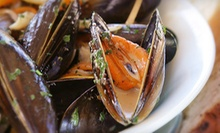 Two-Course Italian Dinner for Two or Four at Calabria Restaurant (Up to 54% Off)