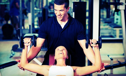 One- or Three-Month Gym Membership with Monthly Private Training Sessions at Anytime Fitness (Up to 89% Off)