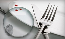 $79 for a Murder-Mystery Dinner for Two with Commemorative Mugs from The Dinner Detective (Up to $167.80 Value)