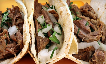 Contemporary Latin American Dinner for Two or Four with Margaritas and Botanas at Agave Grill & Cantina (Up to 60% Off)