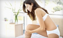 Six Laser Hair-Removal Treatments on an Extra-Small, Small, or Medium Area at Angles Hair & Aesthetics (Up to 84% Off)