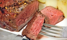 Steak, Seafood, and American Cuisine for Dinner or Lunch at Black Pearl (Half Off)