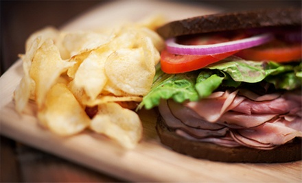 $10 for Sandwiches, Chips, and Cannolis for Two at Noto's Italian Deli (Up to $21.18 Value)