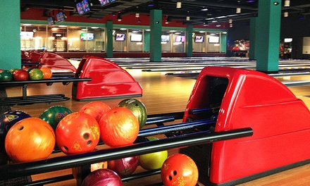 $23 for a Bowling and Arcade Outing for Four at StrikeOuts Entertainment Center ($38 Value)