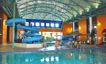 groupon daily deal - Stay at Ramada Plaza Green Bay in Green Bay, WI. Dates Available into June.