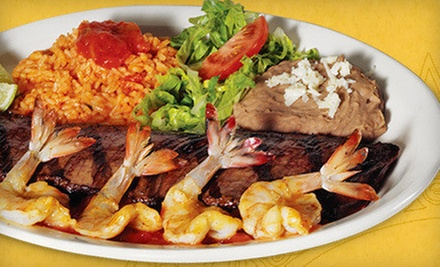 $10 for $20 Worth of Mexican Food at Pepe&#x27;s Mexican Restaurant