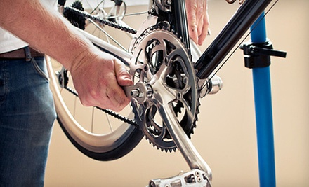 All-Day Beach-Cruiser Rental for One or Two or Bicycle Tune-Up at The Bicycle Clinic (Up to 63% Off)
