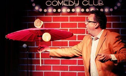 $20 for Show for Two, an Appetizer, and a Piece of Cake at Flappers Comedy Club (Up to $58 Value)
