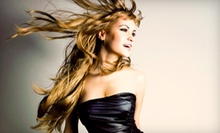 Haircut, Style, and Deep-Conditioning Treatment with Option for Partial Highlights at Shaso Salon & Spa (Up to 61% Off)