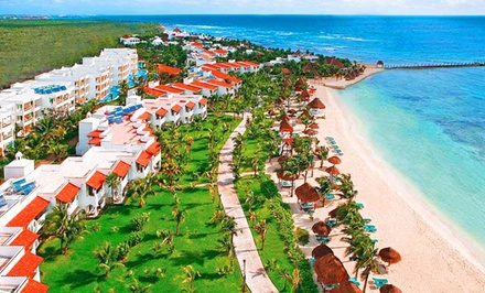 4- or 6-Night All-Inclusive Stay at El Dorado Seaside Suites with Airfare. Price Per Person Based on Double Occupancy.