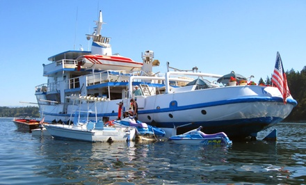 groupon daily deal - 5-Night Fishing Cruise with Meals Included from Alaskan Modoc Adventures in Ketchikan, AK