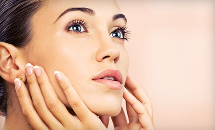 One or Two Dermaplaning Facials at Identity Hair Salon and Spa (55% Off)