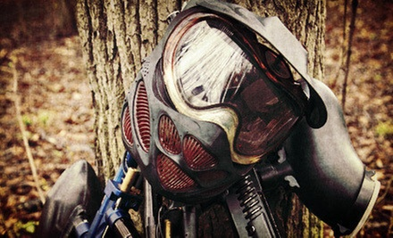 $15 for a Weekend Paintballing for Two with Equipment and Paintballs at Paintball Nation (Up to $110.50 Value)