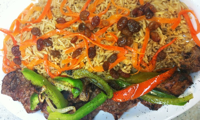 Afghan kebob grill central jersey deal of the day for Afghan kebob cuisine menu