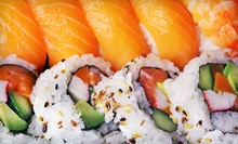 $15 for $30 Worth of Sushi and Asian Tapas for Dinner for Two or More at Ninja Spinning Sushi Bar