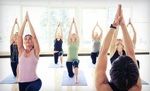 10 Classes or a One Month of Unlimited Classes at Evolve Yoga: Sacred Healing &amp; Creative Arts (Up to 70% Off)