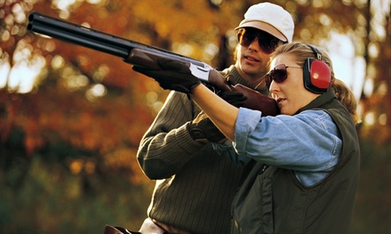 $13 for Skeet-Shooting Outing with Ammo, Targets, and Gun Rental at Tom Lowe (Up to $24.84 Value)