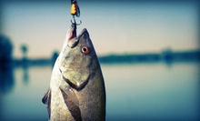 $99 for a Half-Day Fishing Trip with Tackle, Bait, and Catch from Swannys Guided Fishing ($215 Value)