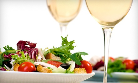 Bistro Food and Wine for Lunch or Dinner at The Cellar Door (Half Off)