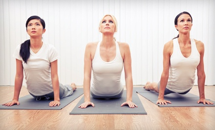 10 Yoga Classes or One Month of Unlimited Classes at Sacred Rivers Yoga (Up to 76% Off)