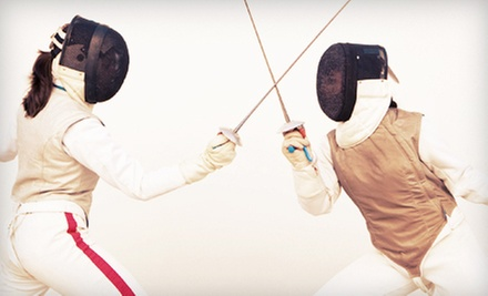 Four or Eight Fencing Classes for One or Two Kids at Cobra Fencing Club (Up to 76% Off)