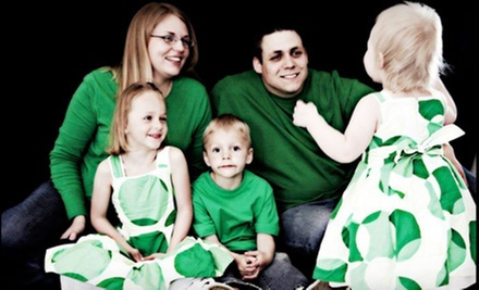 "$69 for a Holiday Photo Shoot with Holiday Cards or an 8""x10"" Print at The Village Paparazzi (Up to $450 Value)"