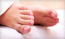 Facial with a Massage or a Detox Pedicure with Reflexology from Joyia Camaj at Gina Camaj Salon and Spa (Up to 54% Off)