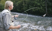 One- or Two-Hour Fly-Fishing Lesson for Up to Two from Rod &amp; Gun Guide Services (Up to 75% Off)