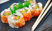 Half Off Japanese Food and Drinks at Sushi on the Rocks (Half Off). Two Options Available.