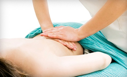 $29 for a Chiropractic Visit with Exam, X-rays, and One-Hour Massage at Geist Chiropractic in Fishers (Up to $250 Value)