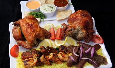 $15 for $25 Worth of Mediterranean Cuisine at Chicken Dijon Rotisserie & Grill