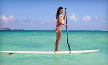 One-Hour or Half-Day Paddleboard Rentals for One or Two from Fin's Jet-Ski Tours & Stand-Up Paddleboard (Up to 58% Off)