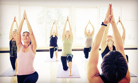 C$39 for One Month of Unlimited Hot Yoga Classes at Yoga Loft (C$150 Value)