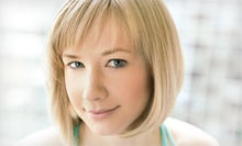Haircut Package with Optional Partial or Full Highlights at Hair & Nail Design by Kisha (Up to 62% Off)