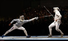 Introductory Fencing Class or Four Beginning or Intermediate Fencing Classes at Gryphon Fitness Studio (Up to 51% Off)