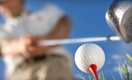 Golf Lessons at Columbus Golf Academy (Up to 55% Off). Three Options Available.