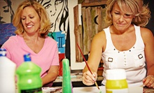 BYOB Painting Event or Art Party for One or Two at Atelier 427 (Up to 69% Off). Five Options Available.
