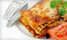 Dinner Package with Lasagna, Pasta, Pizza, or All Three at Papa Petrone's Take 'N Bake (Up to 60% Off)