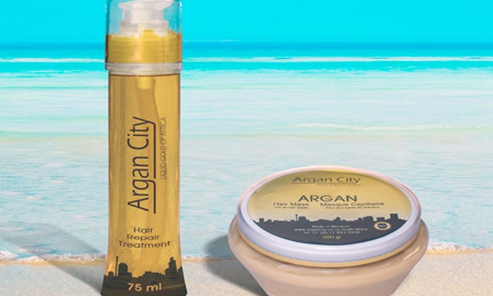 ARGAN: Two Argan Oil Hair Repair Treatments, Including Delivery