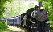 90-Minute Mt. Cuba Meteor Train Ride for One or Two Adult-Child Pairs at Wilmington & Western Railroad (Up to 56% Off)