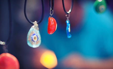 1.5-Hour Fused-Glass Jewelry Class for One or Two at Denault Studios (Up to 57% Off)