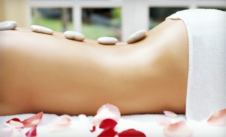 One or Three 60-Minute Hot-Stone Massages from Rosa Schoenebeck at Chrysalis Salon & Spa (Up to 59% Off)