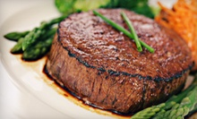 Steak-House Cuisine for Two or Four at Macleay Country Inn (Half Off)