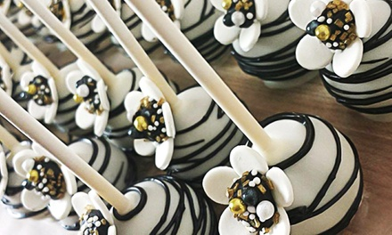One or Two Dozen Basic Dessert Pops, or One Dozen Custom Dessert Pops at The Pop Shop (Up to 52% Off)