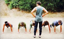 $35 for One Month of Unlimited Boot-Camp Classes from Basic Training Academy ($150 Value)