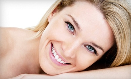 HydraFacial with Optional DermaBuilder and LED Therapy, or Five HydraFacials at Slidell Aesthetics (Up to 55% Off)