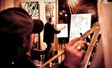 $17 for a Painting Class Hosted at a Local Venue from Colors & Bottles ($35 Value)